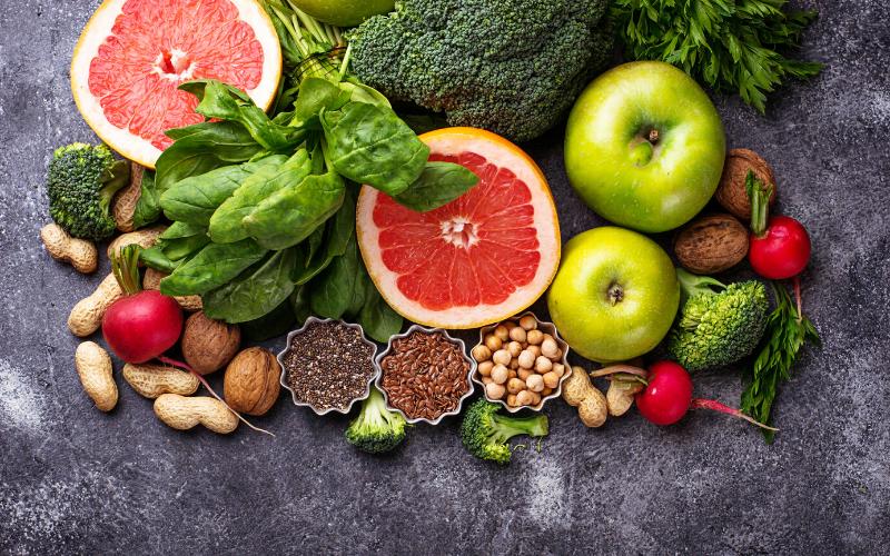 variare nella dieta frutta e verdura
