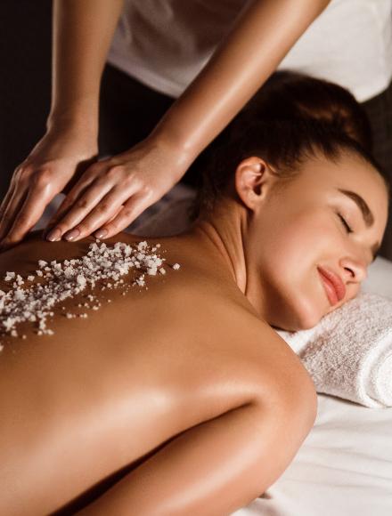 Peeling e Massaggio